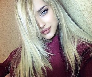 beauty, blue eyes, and pretty girls image