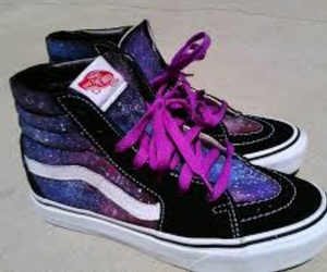 high top, off the wall, and vans image