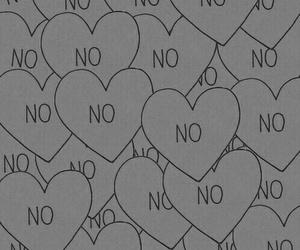 no, wallpaper, and heart image