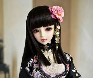 doll, ball jointed doll, and beautiful image