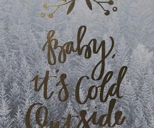 winter, christmas, and wallpaper image