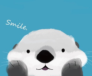 wallpaper, smile, and animal image