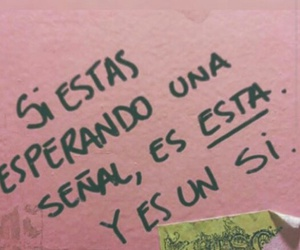 love, señal, and frases image