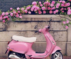 pink, scooter, and love pink image