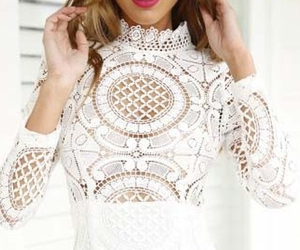 beautiful, lace, and cute image