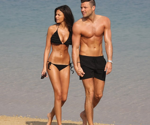 couple, love, and fit image