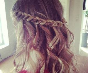 hairstyles, pretty, and trenza image