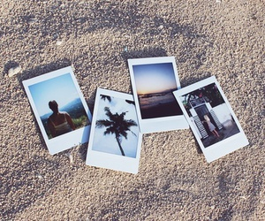 beach, summer, and photo image