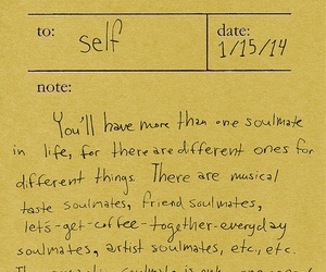 quotes, yellow, and note image