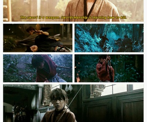japan, himura kenshin, and japanese image