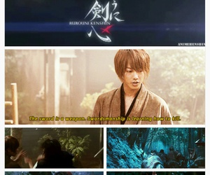 japan, himura kenshin, and movie image