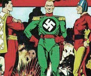adolf hitler, Devil, and nazi image