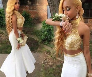 prom dresses, prom gown, and cheap prom dresses image