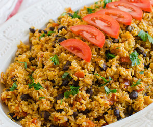 black bean, mexican, and rice image
