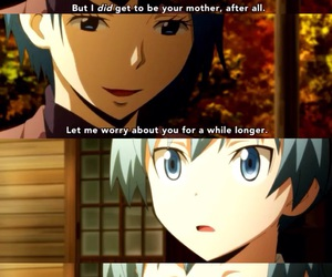 anime, kindness, and motherly love image