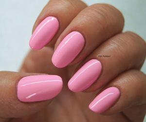 nailpolish, pink, and nails image