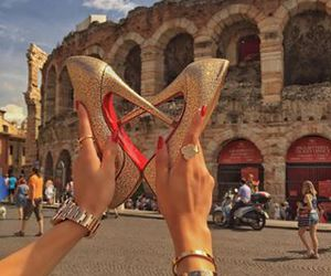 italy, hermeslouboutinlouis, and christian louboutin image