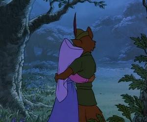 robin hood, disney, and love image