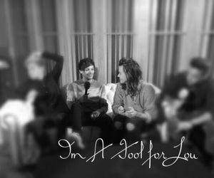 fool, Harry Styles, and love image