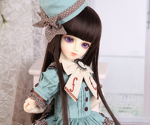 bjd, doll, and dolls image