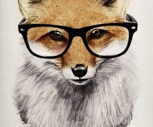 art, fox, and beautiful image