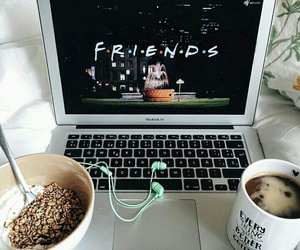 friends, coffee, and food image