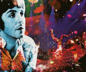 colorful, Paul McCartney, and trippy image