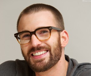actor, chris evans, and smile image