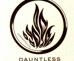 divergent, dauntless, and four image
