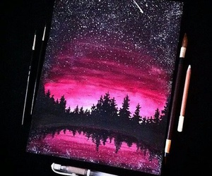 night, sky, and weheartit image