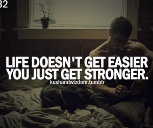 strong, life, and quote image