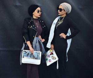 fashion, hijabstyle, and outfit image