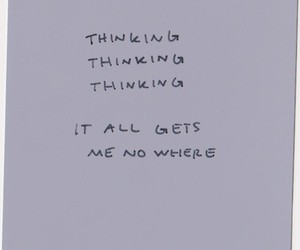 thinking, text, and think image