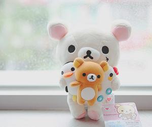 kawaii, cute, and bear image