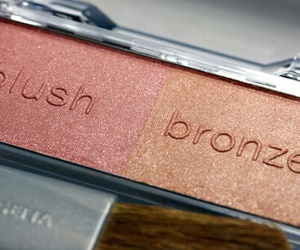 makeup, blush, and bronze image