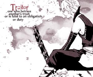 traitor and anime girl cute image