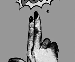 comic, nails, and girl power image