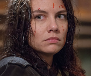 the walking dead, lauren cohan, and twd image