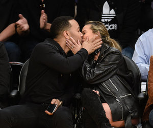 candid, john legend, and kissing image