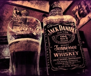 drink, jack daniels, and whiskey image