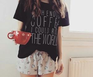coffee and pajama image