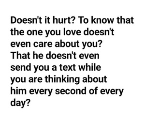 broken heart, quote, and him image