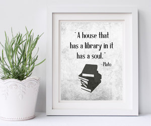 etsy, home decor, and word art image