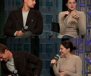 book, Shailene Woodley, and theo james image