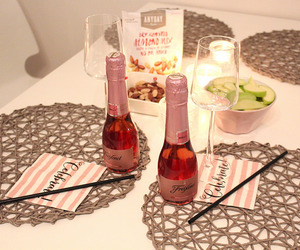 alcohol, champagne, and party image