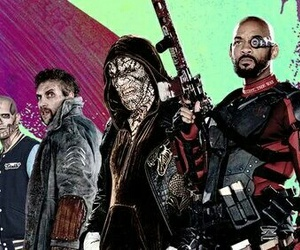 deadshot, harley quinn, and joker image