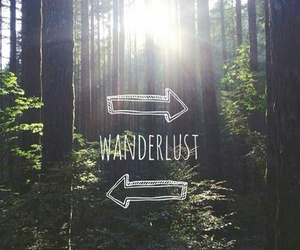 wanderlust and travel image