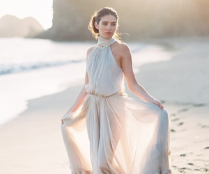 clothes, fashion, and bridal gowns image