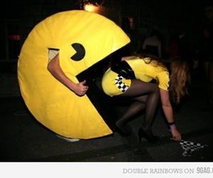 boy, fun, and Pac Man image