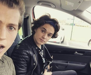 brad simpson, the vamps, and tristan evans image